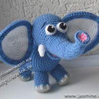 Слонёнок от Янины (jasmine)