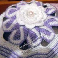Летняя шапочка «Чудо цветок»