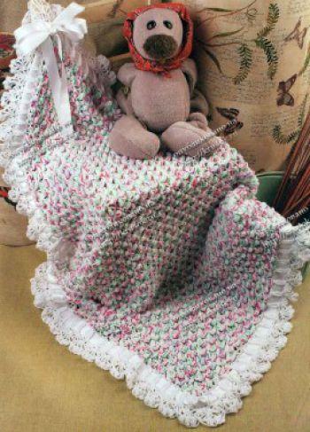 Для вязания детского покрывала
