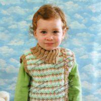 Жаккардовый жилет для мальчика