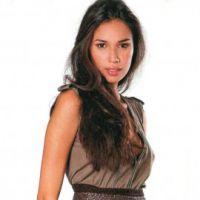 Теплая вязаная юбка с зигзагообразным узором