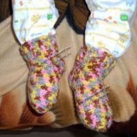 Вязание носков крючком. Мастер-класс!