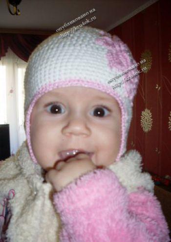 Детская осенняя шапочка &#171