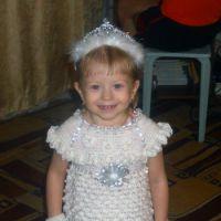 Платье — снежинка