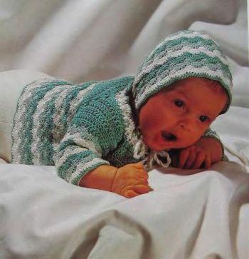 Полосатый комплект для малыша