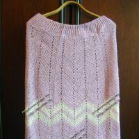 Вязаная юбка — работа Эльвиры Алеевой
