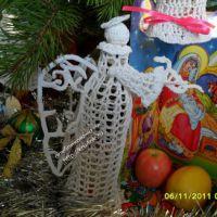Вязаный ангел – работа Анны Ратовой