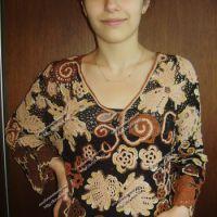 Блуза «Краски осени»