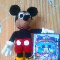 Игрушка Микки Маус - работа Чубовой Ларисы