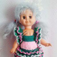 Платье для куклы — работа Ирины