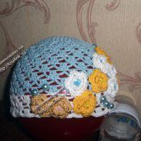 Летняя шапочка — работа Александры