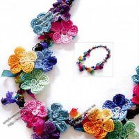 Цветочные бусы