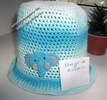 Панамка для мальчика Слон