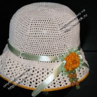 Шляпка для девочки 8 лет