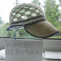 Летняя кепка для мальчика с козырьком