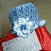 Шляпка «Нежный цветок»