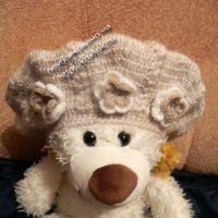Теплый берет и шарф — работы Дианы
