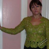 Зеленая кофточка — работа Натальи Самойловой