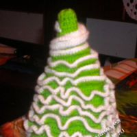 Вязаня крючком елочка