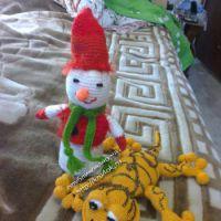 Вязаные игрушки — работы Светланы