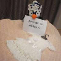Костюм снежинки — работа Татьяны Андреевой