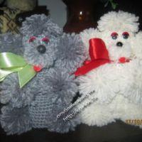 Вязаные крючком игрушки — работы Марины Водолазовой