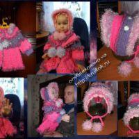 Комплект на весну для девочки 2-х лет «Барынька»