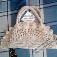 Вязаная крючком сумка — работа Елены Шмайловой
