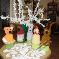 Вязаные игрушки — пальчиковый театр