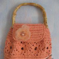 Розовая сумочка — работа Елены