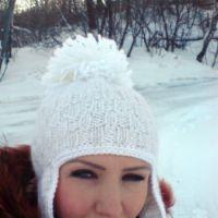 Вязаные шапки — работы Ваниной Ольги