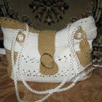 Вязаные крючком сумочки — работы Неонилы