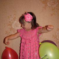 Детское платье Озорной колокольчик