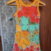 Детское платье «Летние мотивы» — работа Эльвиры Алеевой
