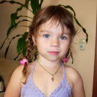 Купальник для девочки — работа Ольги