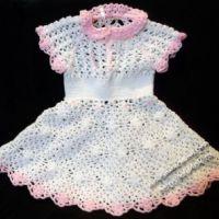 Платье для девочки — работа Милы