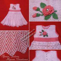 Платье для девочки 2-3х лет