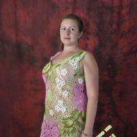 Вязаное платье — работа Шаповал Надежды