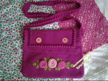 Летняя сумочка — работа Жанны