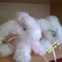 Вязаные игрушки — работы Татьяны