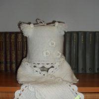Шапочка и шарфик — работа Светланы