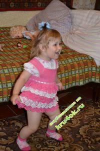 Платье для девочки — работа makedosha