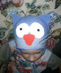 Детская шапочка — работа Елены