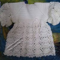 Платье для малышки — работа Аллы