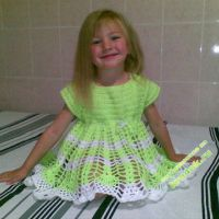 Детское платье — работа Татьяны