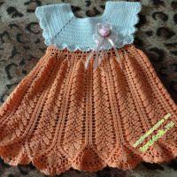 Платье для девочки «Колосок»