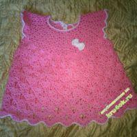 Детское платье — работа Зульфии