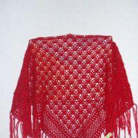 Красная шаль – работа Светланы