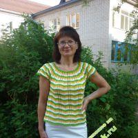 Летняя блуза — работа Беляевой Татьяны