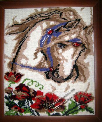 Моё хобби вязание картин.